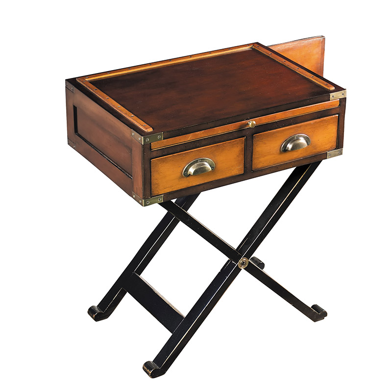 Small bombay box side table john dick son for Tiny side table