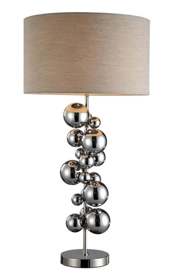 Steel Ball 'Bubble' Table Lamp