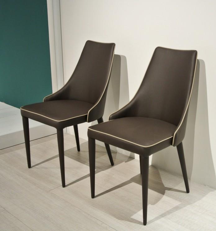 Clara chair from Bontempi