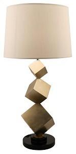 Cube Lamp & Shade