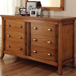 Ocaso Ash 6 drawer chest | Ash Bedroom Furniture