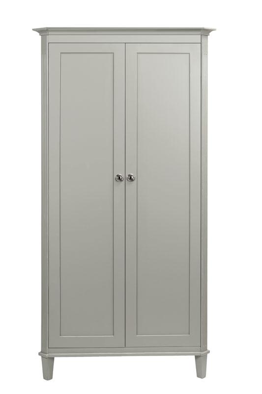 Elegance 2 Door Straight Top Wardrobe