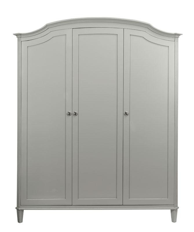 Elegance Large 3 Door Arched TopWardrobe