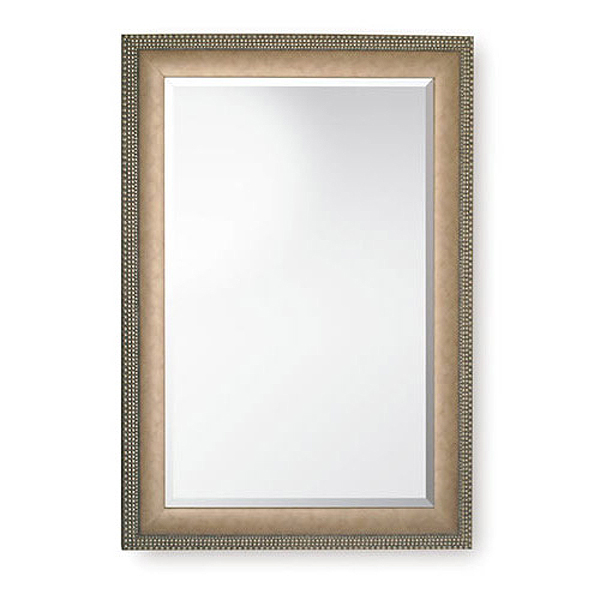 Dull Pewter Mirror