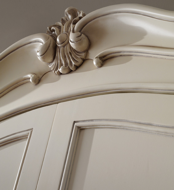 Isobel Wardrobe with cornice detail