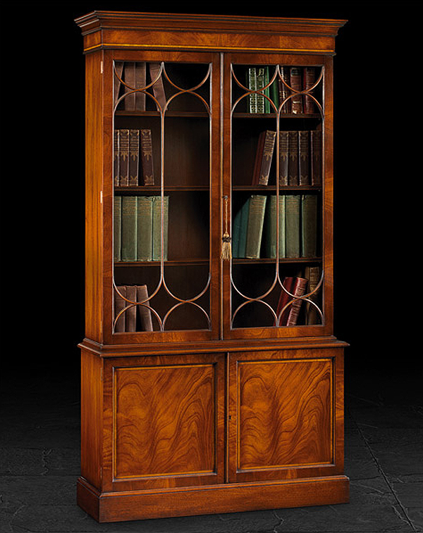 Display cabinets, cupboards and wall units
