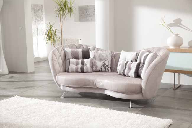 Josephine Fabric Sofa by Fama