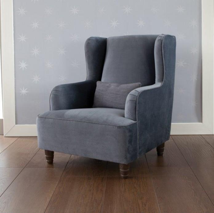 Latimer chair by Henderson Russell, here shown in 'Amalfi Velvet'