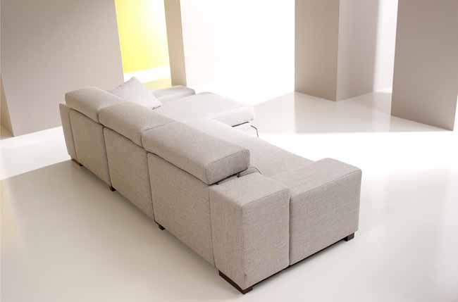 Lotus Fabric Sofa from Fama