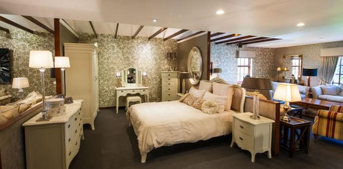 Painted Range of Bedroom Furniture