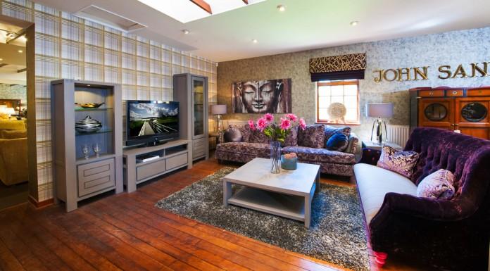 John Sankey Living Room Furniture Display