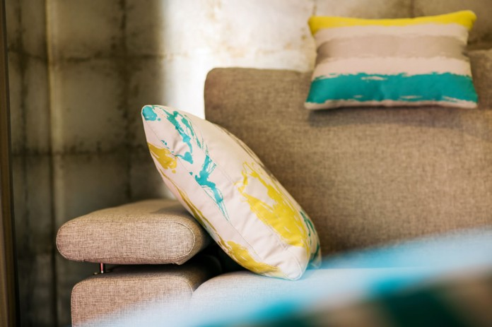 Nimbo Sofa by Fama – Cushion Close Up
