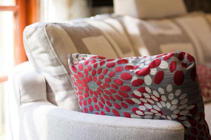 Close-up of Fama Sofa