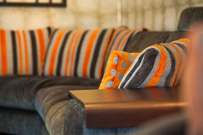 Fama Sofa Arrangement in Our Furniture Showroom