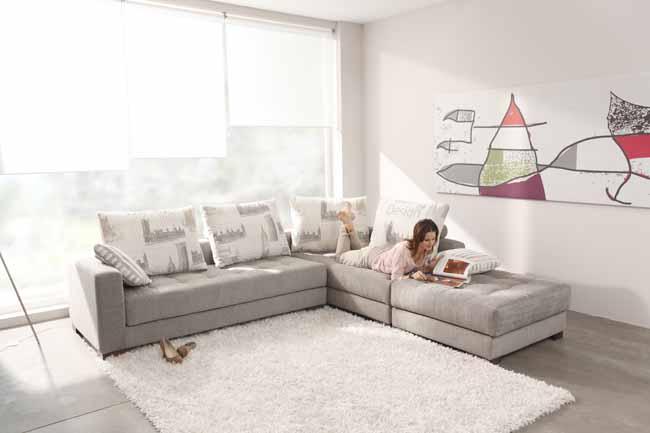 Manacor Corner Sofa by Fama