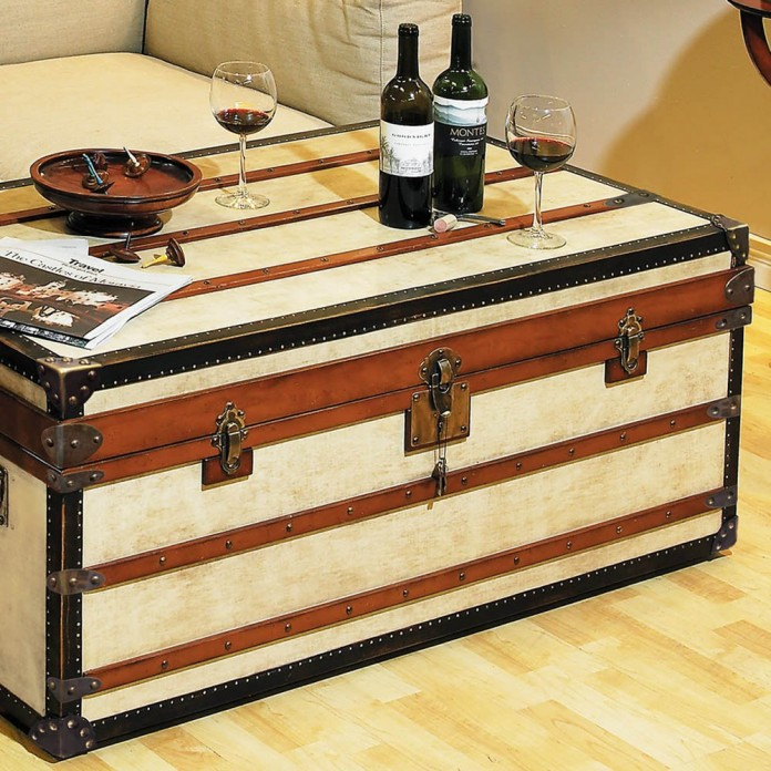 Polo Club Trunk as Coffee Table