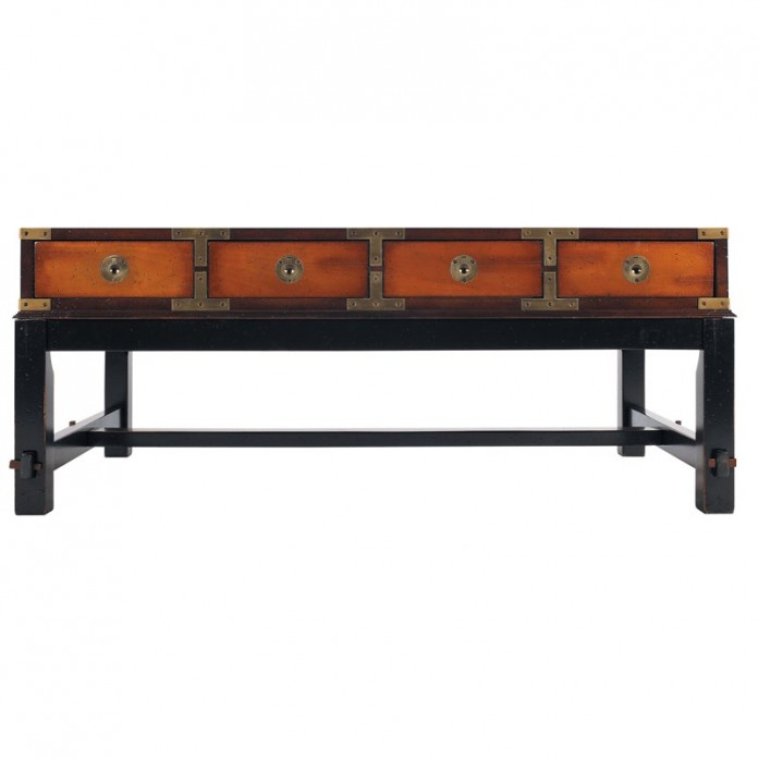 Bombay Salon Coffee Table in Cheery Wood