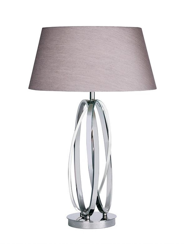 Triple Loop Twist Table Lamp