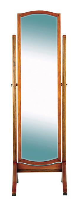 Ocaso Ash Cheval Standing Mirror