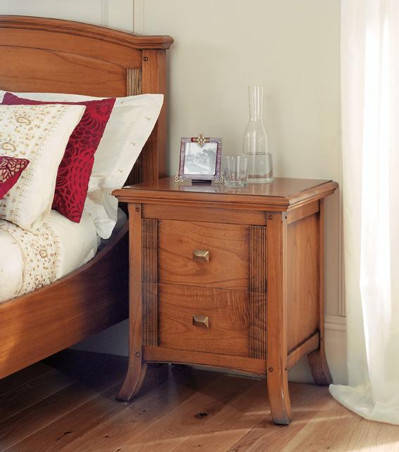 Ocaso Ash Bedside Table | Ash Bedroom Furniture