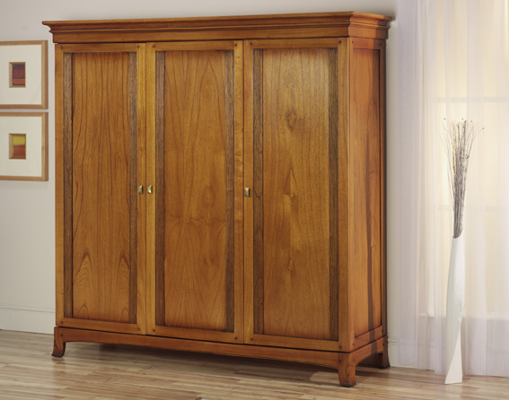 Ocaso Ash 3 door Wardrobe | Bedroom Furniture Glasgow
