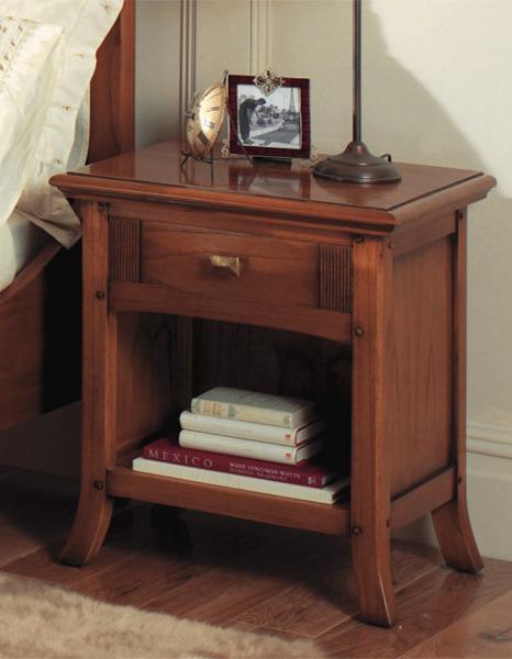 Ocaso Ash Open Bedside Cabinet