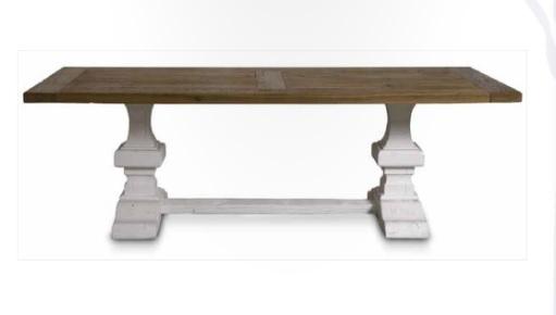 Paris Solid Wood Table by Kela, Here Shown in Oak
