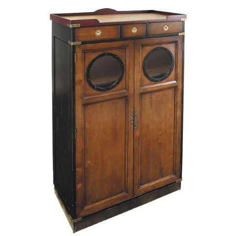 Porthole Hall Cabinet