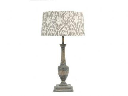 ROXBOROUGH-MINDY-WOOD-LAMP-BASE-WITH-IKAT-SHADE-48289-p[ekm]430×322[ekm]