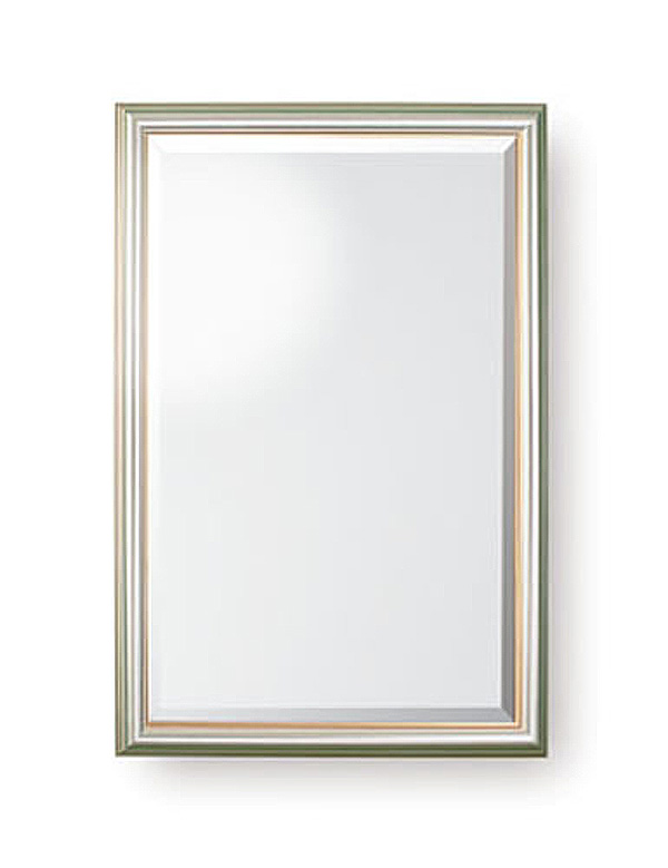 Silver Gilt Fleck Mirror