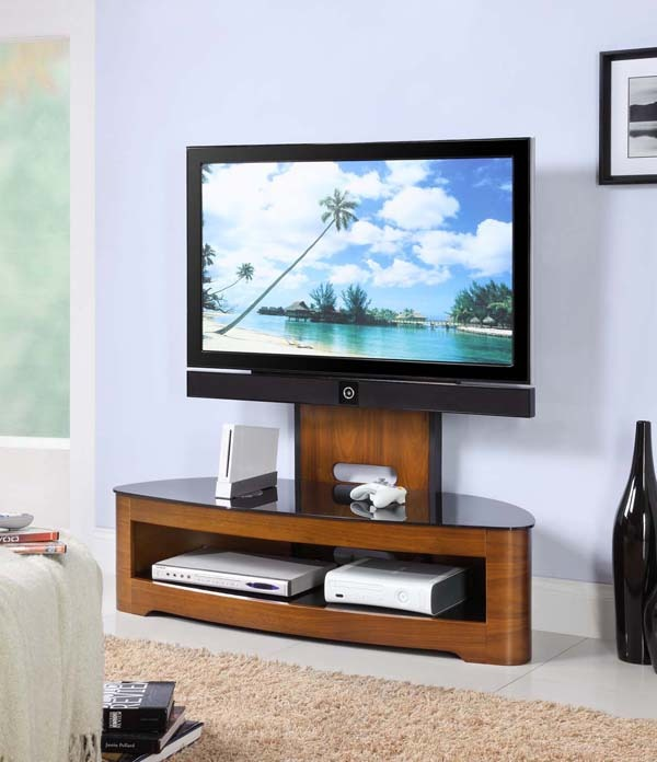Oval Television Stand