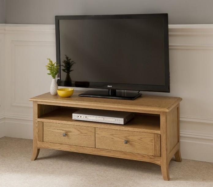 Toro oak 2 drawer TV stand