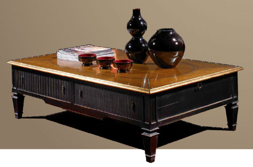 Dark Coffee Table