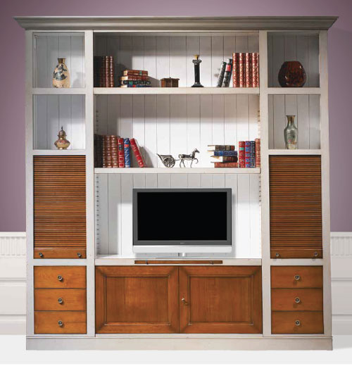 Cherry Wall Display Unit