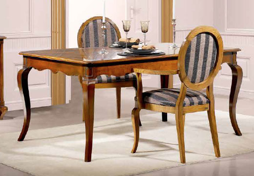 Extendable Rectangular Couples Dining Table