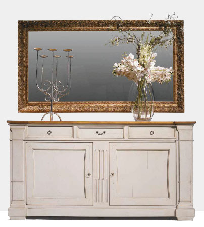Cherry Sideboard with Column Ends