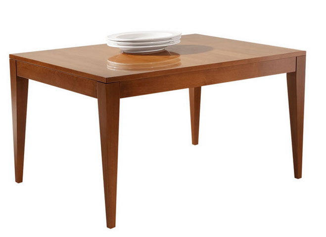 Classic Rectangular Wood Dining Table