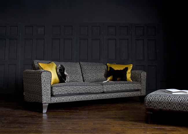 Voltaire Sofa by John Sankey