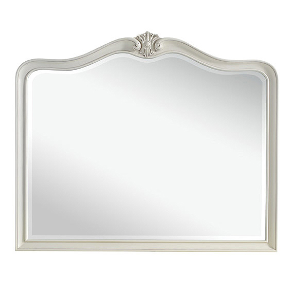 White Painted Wall Mirror