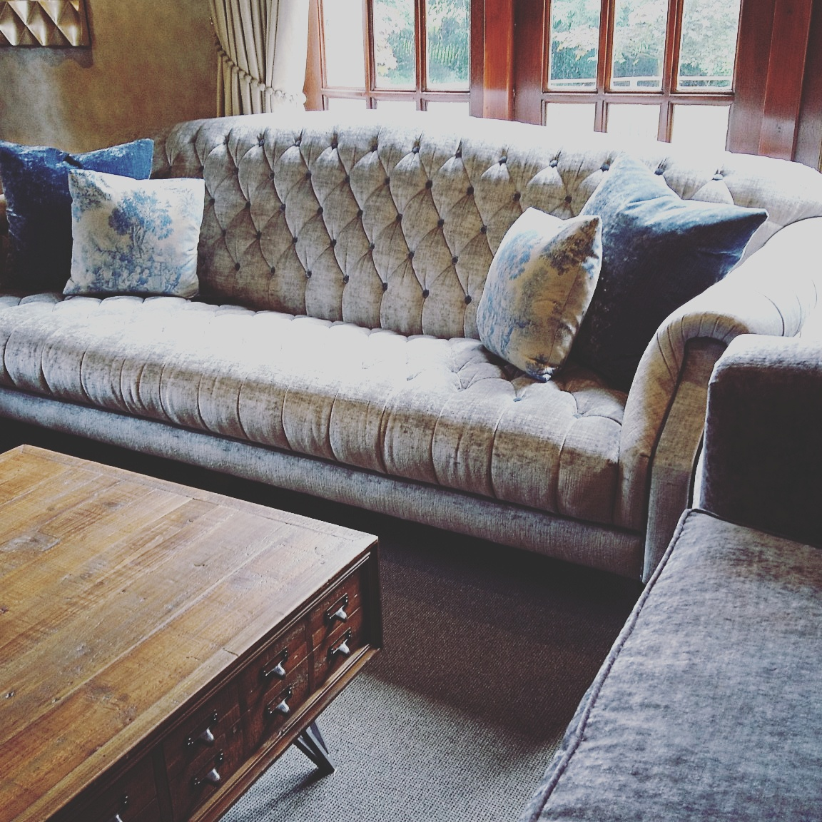 large luxurious sofa