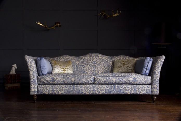 Wolseley Grand Sofa By John Sankey – here shown in 'Legacy Bermuda'