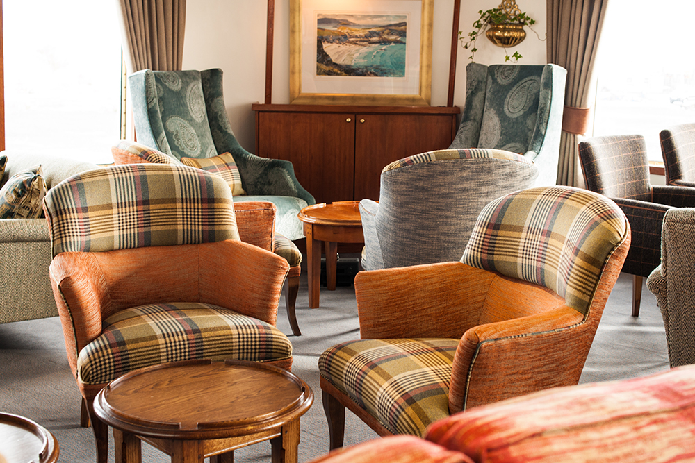 John Dick and Son 2uf8621 Interior Design and Furnishings Installation on Hebridean Princess
