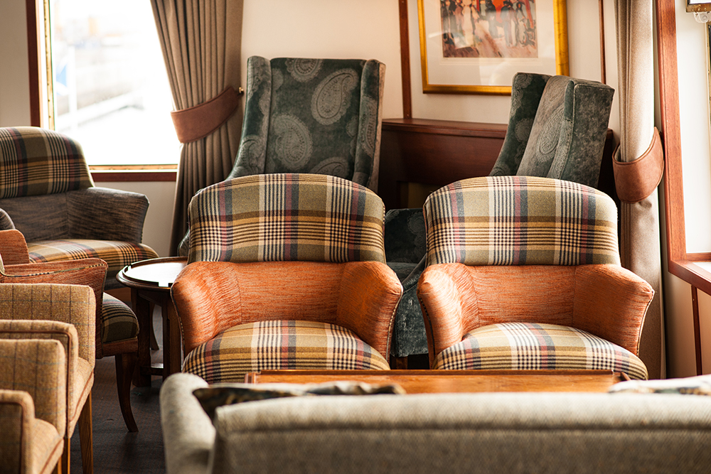John Dick and Son 2uf8769 Interior Design and Furnishings Installation on Hebridean Princess
