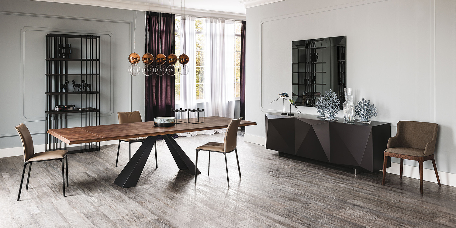 Eliot dining table by Cattelan Italia