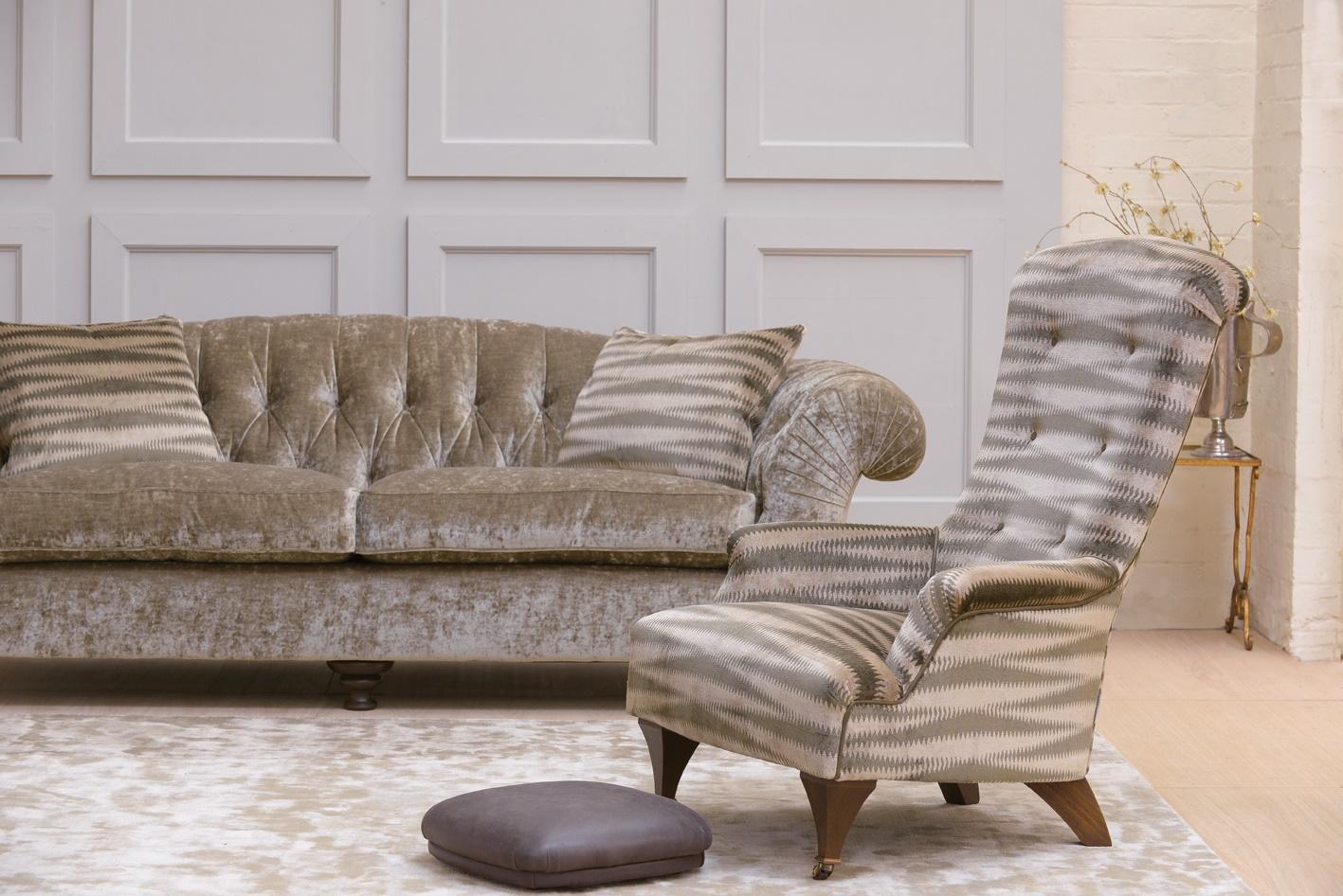 Bloomsbury Sofa and Hawthorne chair