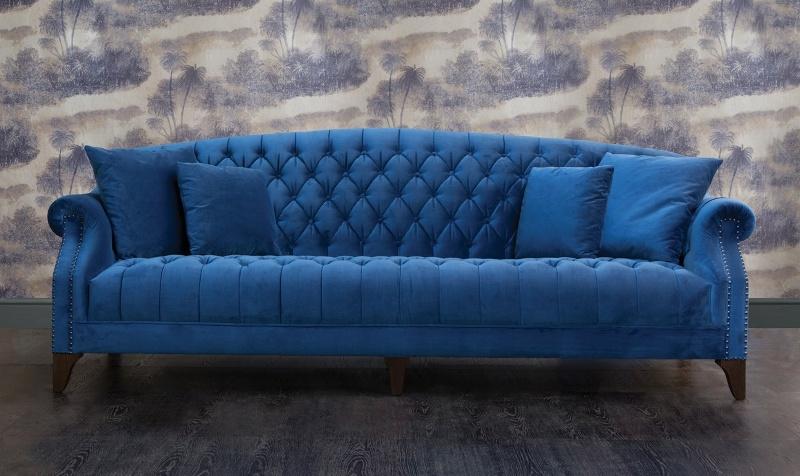 John Sankey Sofa Blue