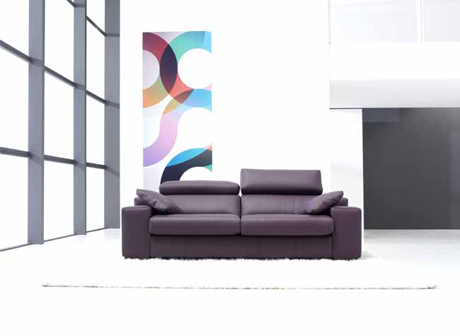 Lotus Leather Sofa