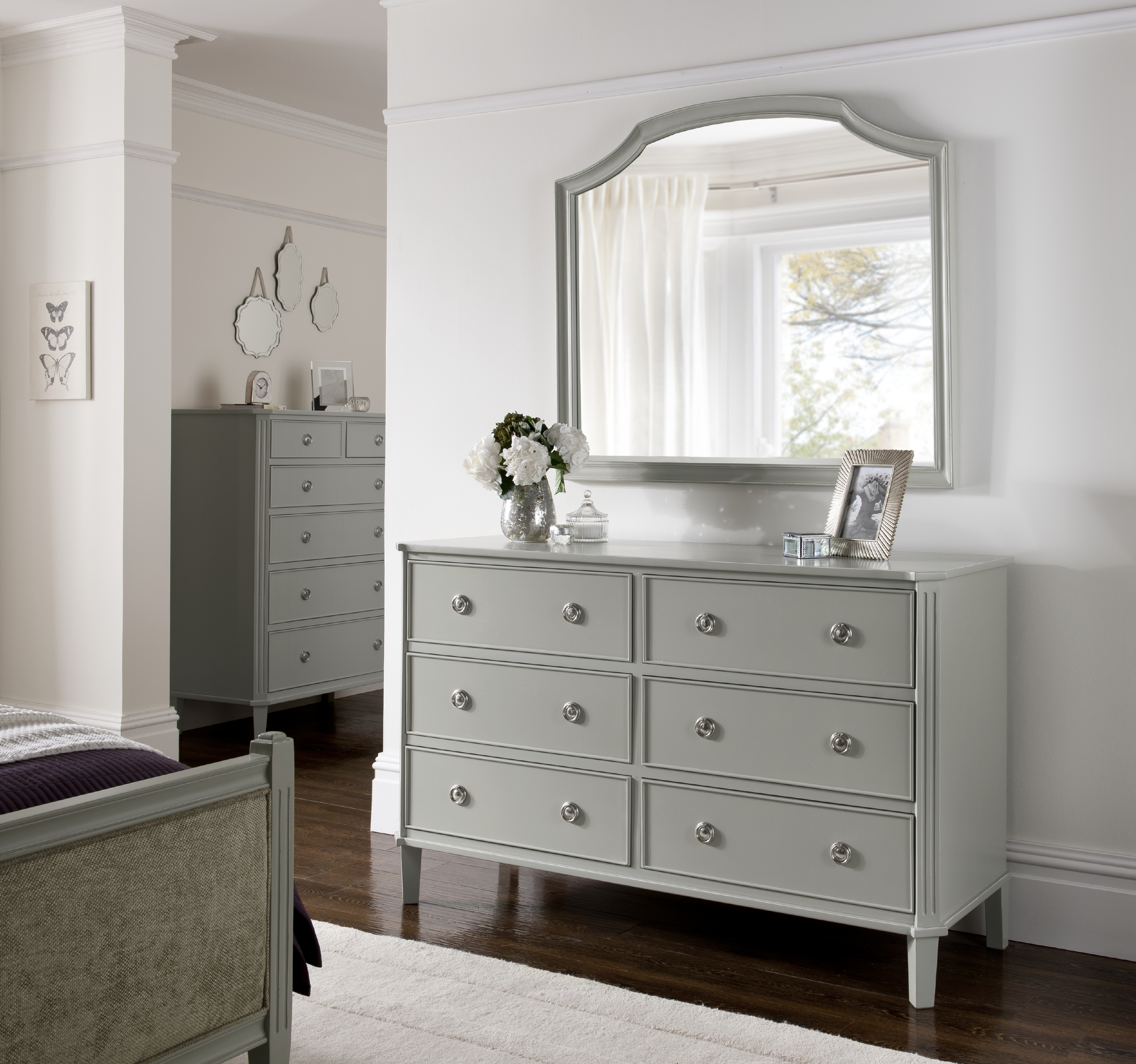 Dressing chest from the Elegance Bedroom Furniture Range