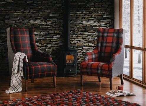 Bury Chair Tartan