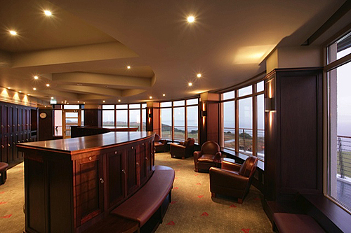 John Dick and Son Castle-Stuart-Golf-Club Interior Furnishings of Main Club House at Castle Stuart Golf Club